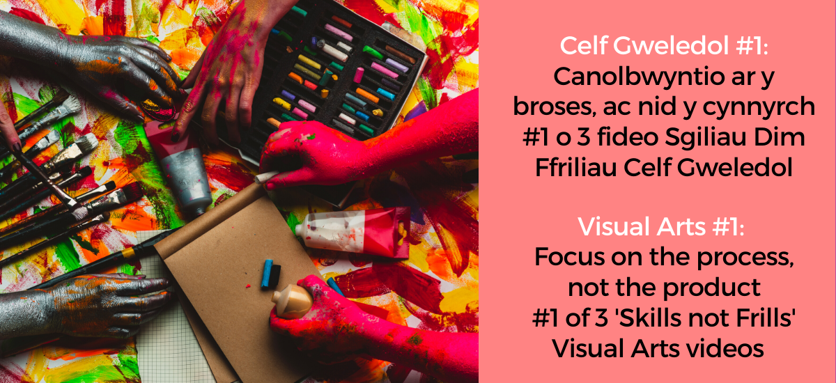 Skills not Frills - visual arts in the classroom #1